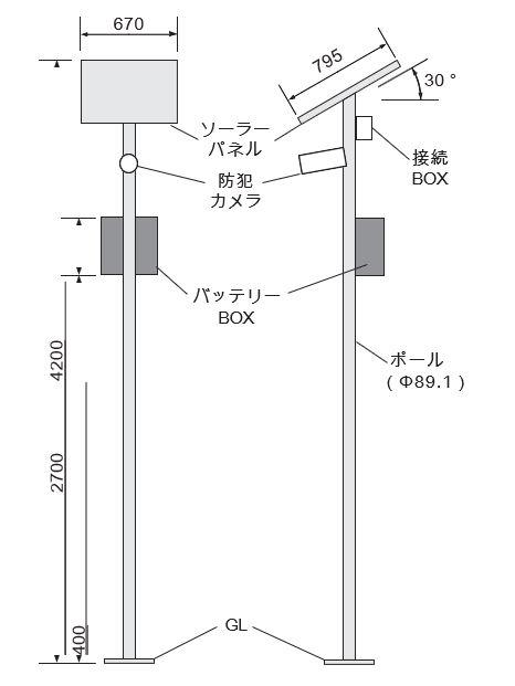 VSC-500C寸法図